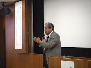 石塚伸一教授(犯罪学研究センター長)