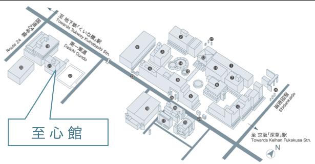 会場:龍谷大学(深草キャンパス)至心館2F パドマ