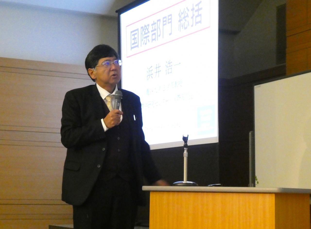 浜井 浩一教授(本学法学部・犯罪学研究センター 国際部門長)