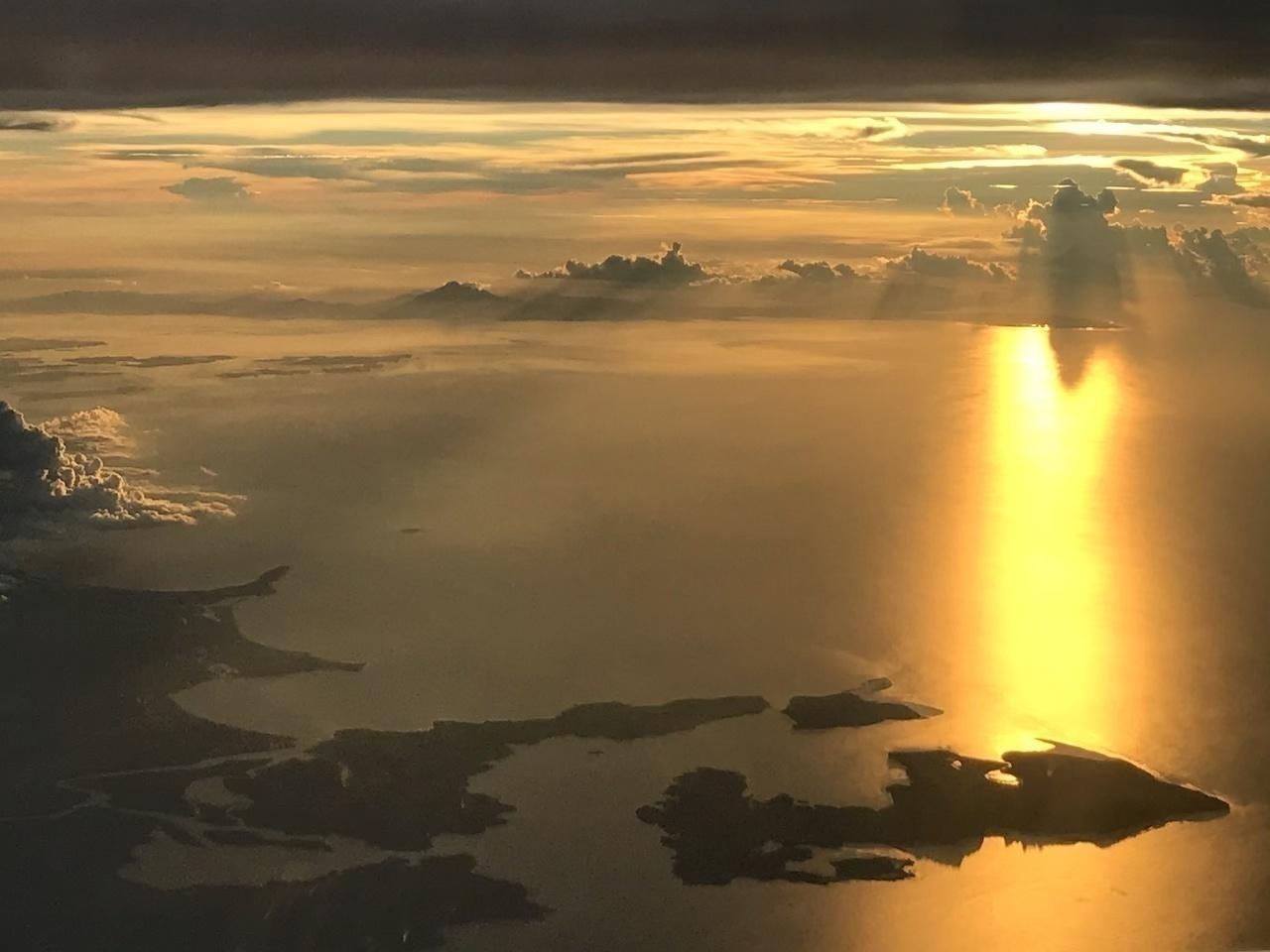 フィリピン・セブ島の夕陽