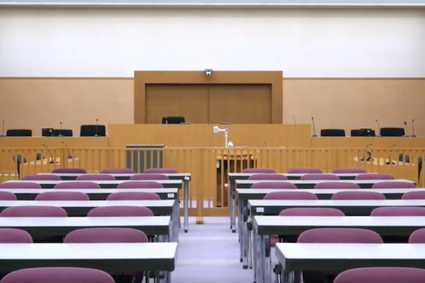 紫光館4階 法廷教室