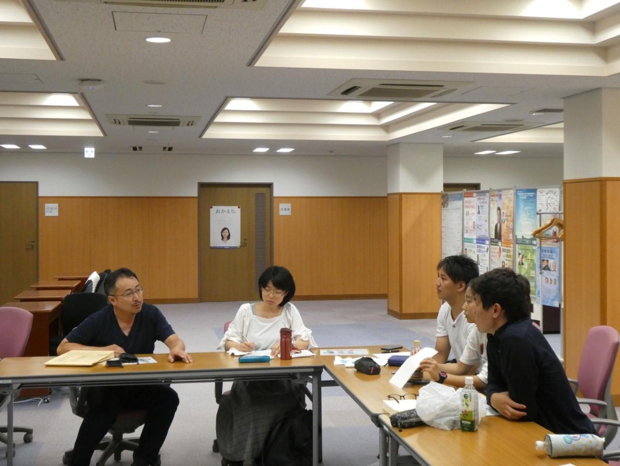 写真左:金尚均教授(本学法学部、犯罪学研究センター「ヘイト・クライム」ユニット長)