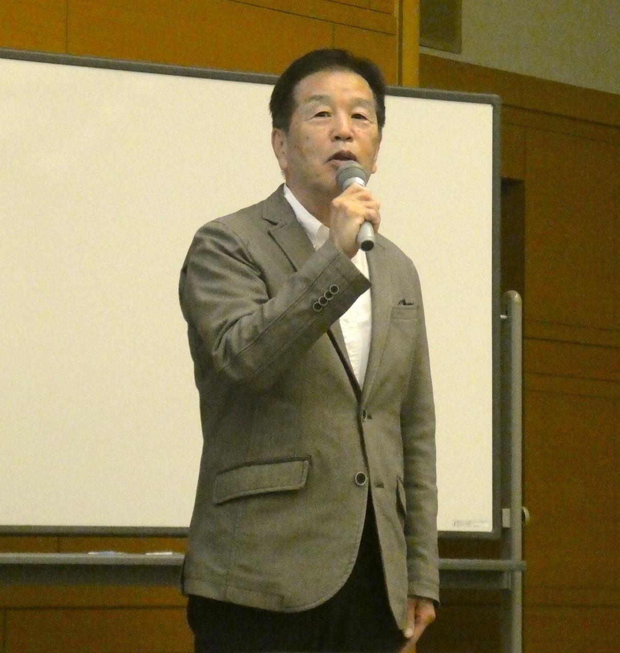 匠輝雄氏(京都社会福祉会 司法と福祉委員会・委員長)