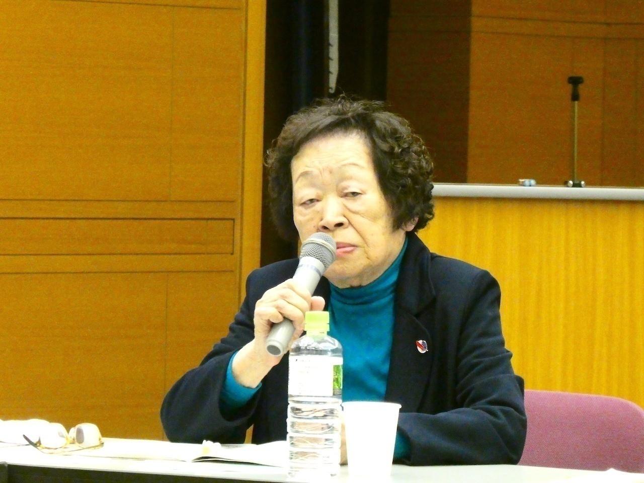 中本忠子氏(特定非営利活動法人「食べて語ろう会」理事長/元保護司)
