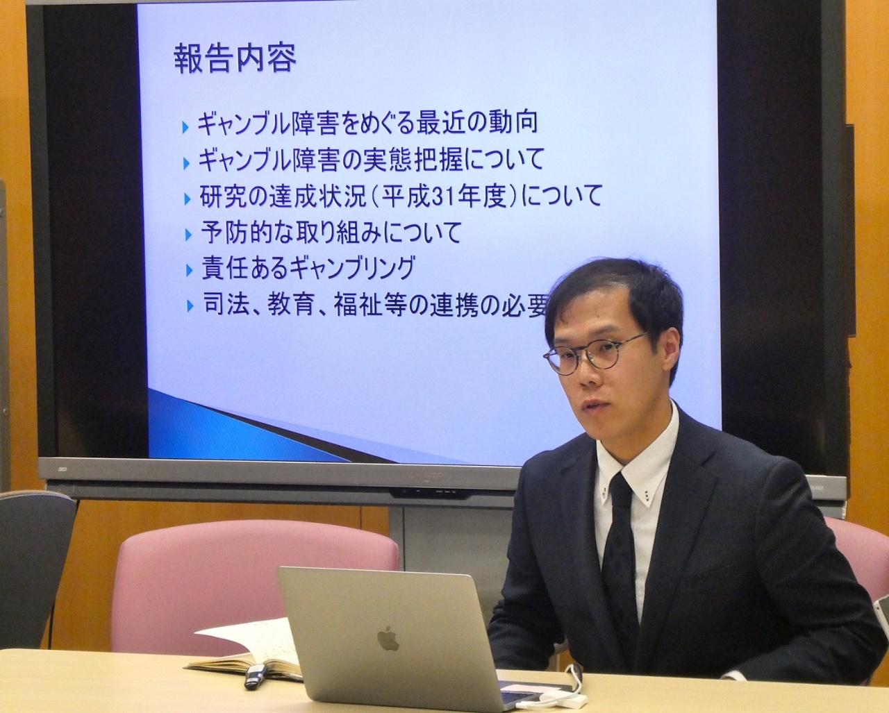 早川 明氏(NHK学園・教員/犯罪学研究センター「ギャンブル障害」ユニットメンバー)