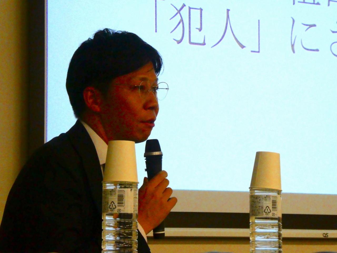 我妻路人 弁護士(大阪弁護士会・SBS検証プロジェクトメンバー)