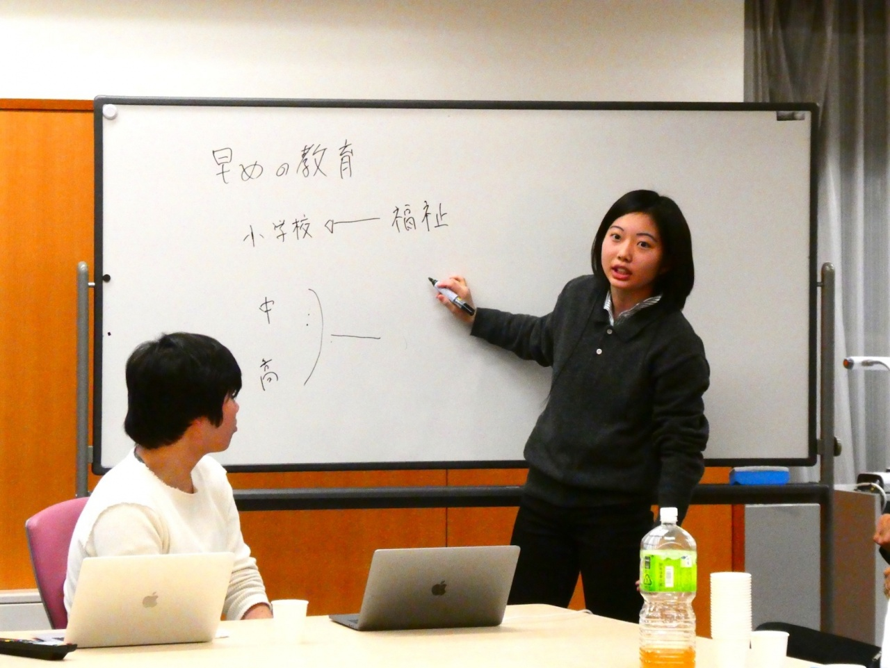 海津更(本学法学部法律学科2回生・浜井ゼミ)
