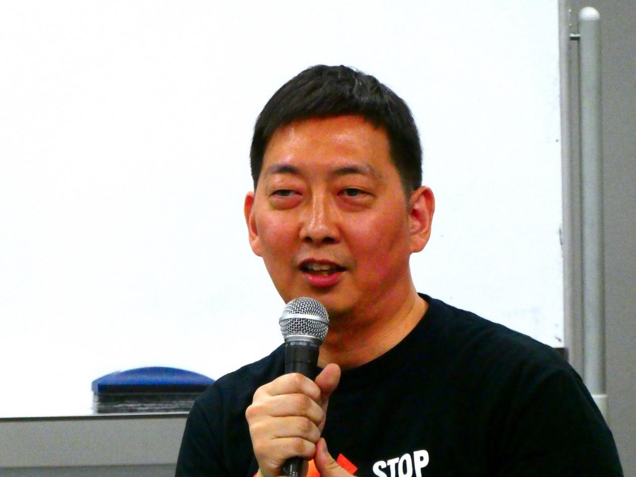 古藤吾郎氏(日本薬物政策アドボカシーネットワーク事務局長/ソーシャルワーカー)