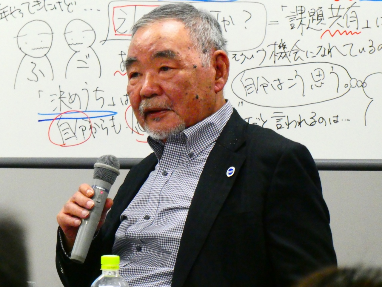 近藤恒夫氏(日本ダルク/ATA-net 顧問)
