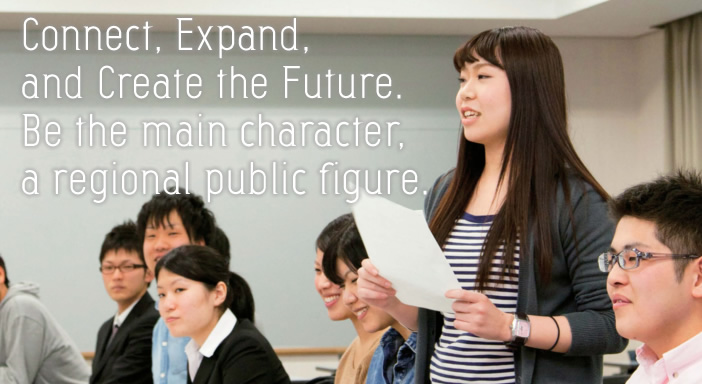 Connect, Expand, and Create the Future. Be the main character, a regional public figure.