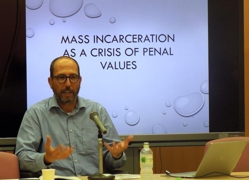 ジョナサン・サイモン氏(UC Berkeley Law School教授:刑事法)