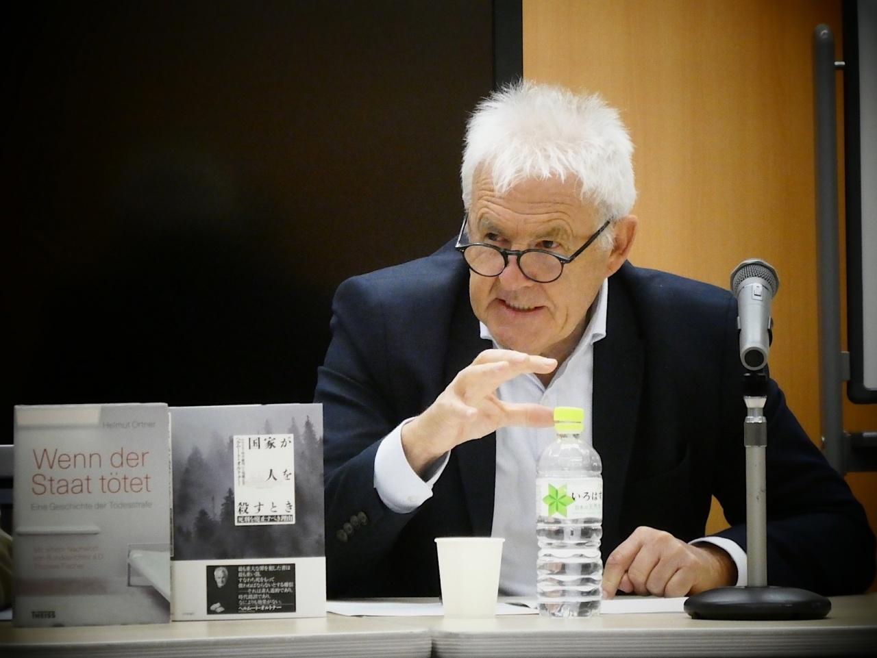 ヘルムート・オルトナー氏(ドイツ・ジャーナリスト)