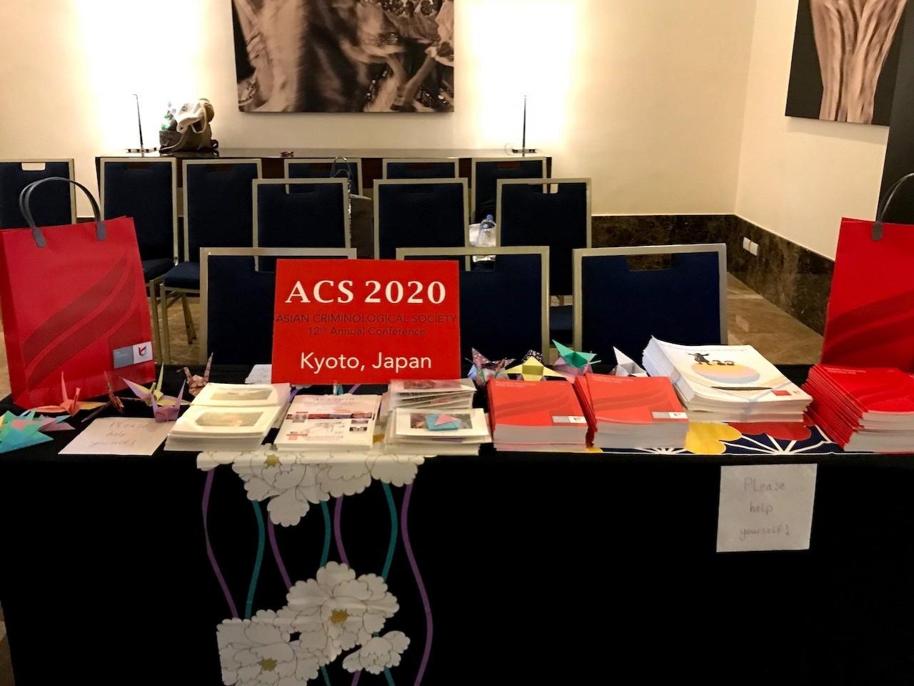 ACS2020 PRブース風景
