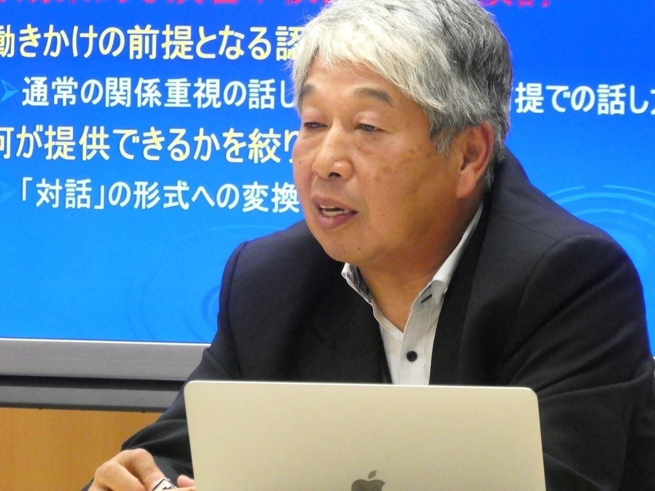 吉川悟教授(本学文学部/「対話的コミュニケーション」ユニット長)