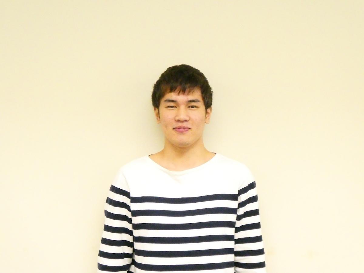 山下敦史(本学法学部法律学科2回生・石塚ゼミ)