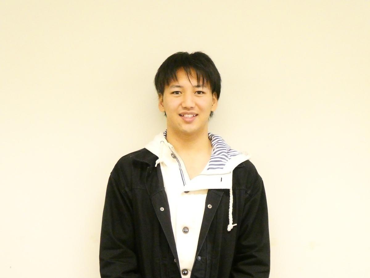 永井涼介(本学法学部法律学科2回生・英語コミュニケーションコース)