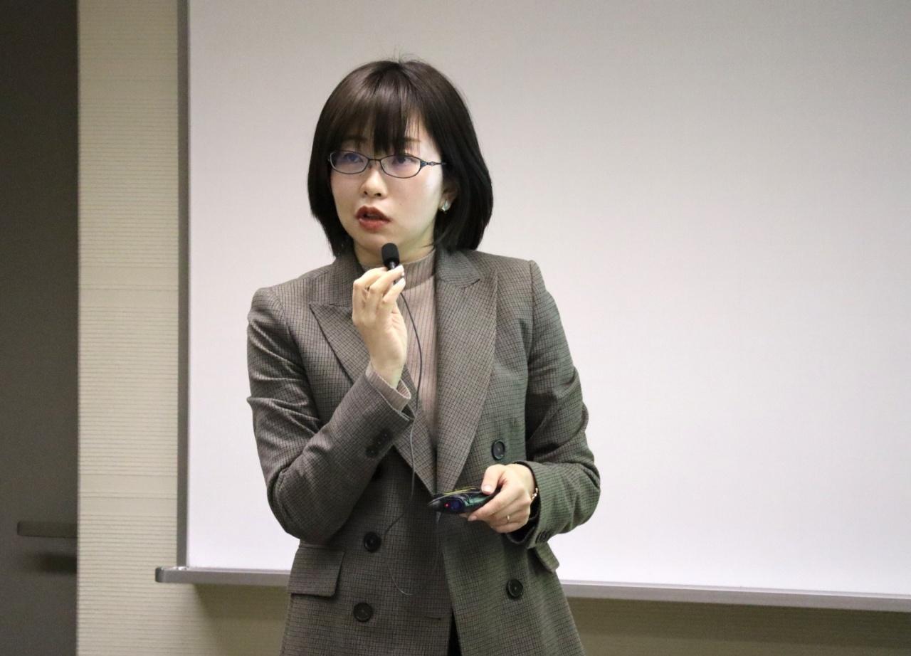郭 薇講師(静岡大学情報学部)