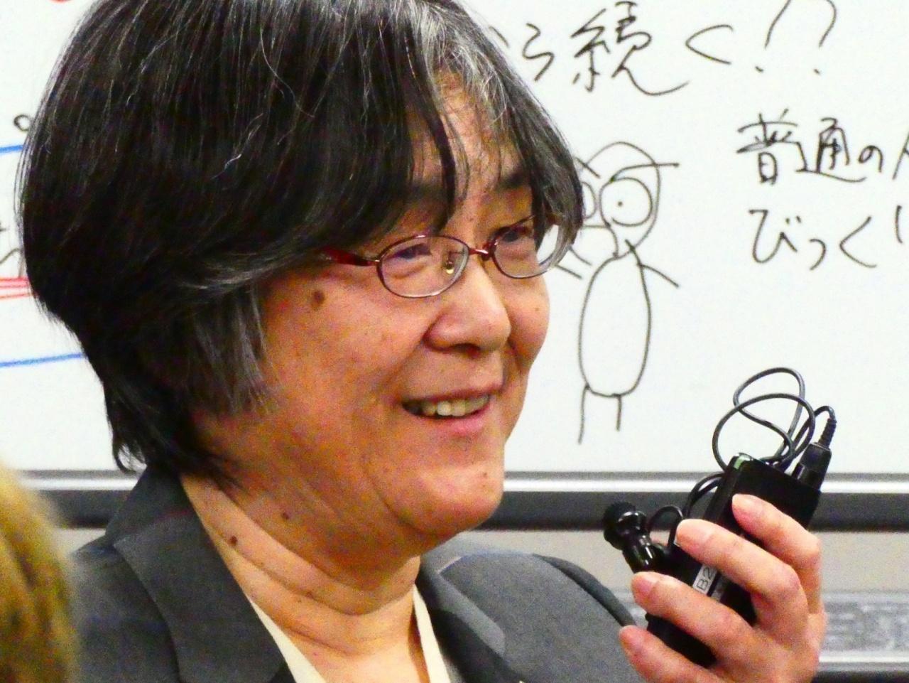 藤岡淳子教授(大阪大学/ATA-net性問題行動班)